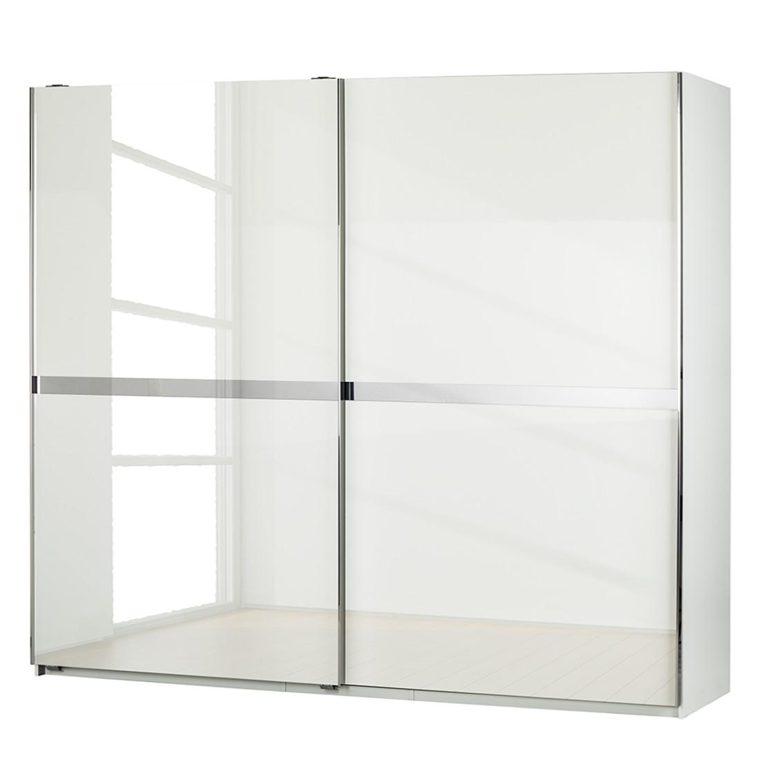 Schwebetürenschrank Safe4 – Alpinweiß/Pearlglanz Softwhite – Schrankbreite: 300 cm – 2-türig – inkl. Beleuchtung, fresh to go günstig kaufen