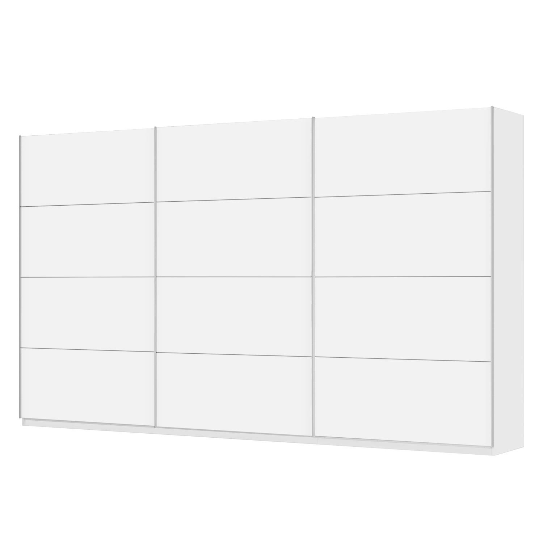 Schwebetürenschrank SKØP - Alpinweiß - 405 cm (3-türig) - 236 cm - Classic, SKØP