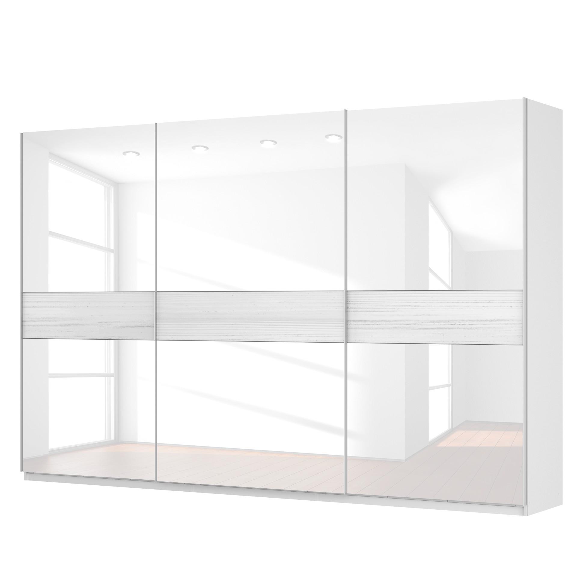 schwebet renschrank sk p alpinwei glas wei 360 cm 3 t rig 236 cm premium sk p. Black Bedroom Furniture Sets. Home Design Ideas