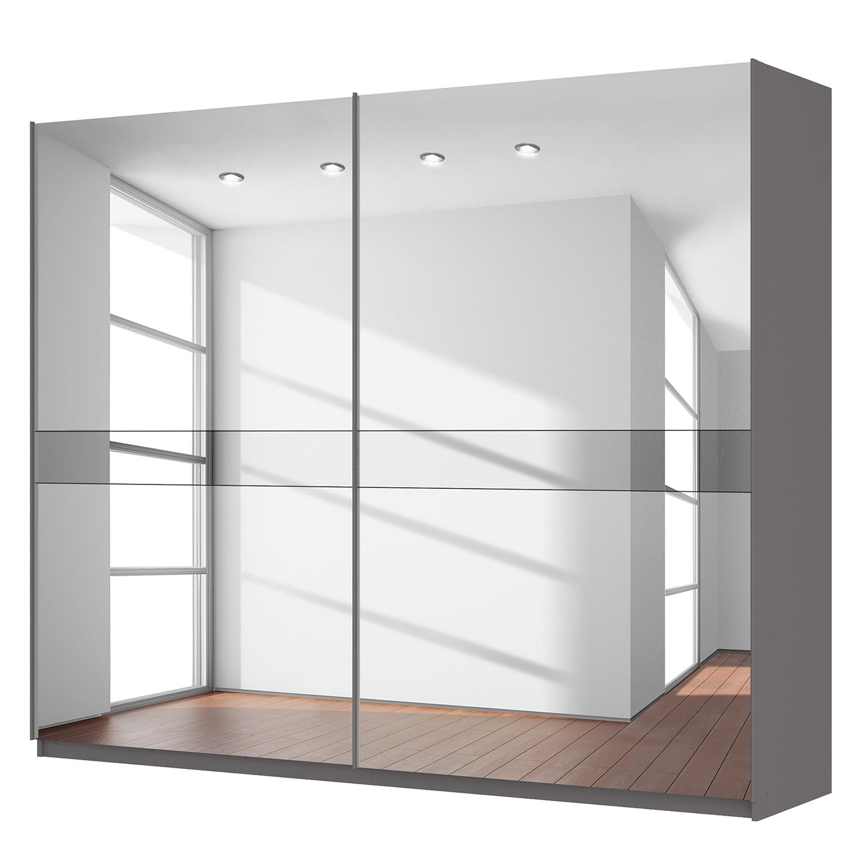 Schwebetürenschrank SKØP – Graphit / Spiegelglas / Grauspiegel – 270 cm (2-türig) – 222 cm – Premium, SKØP günstig kaufen