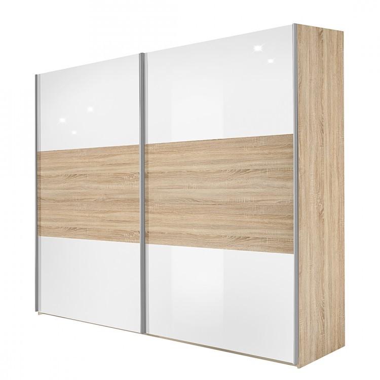 schwebet renschrank trio plus eiche dekor wei breite 202 cm. Black Bedroom Furniture Sets. Home Design Ideas