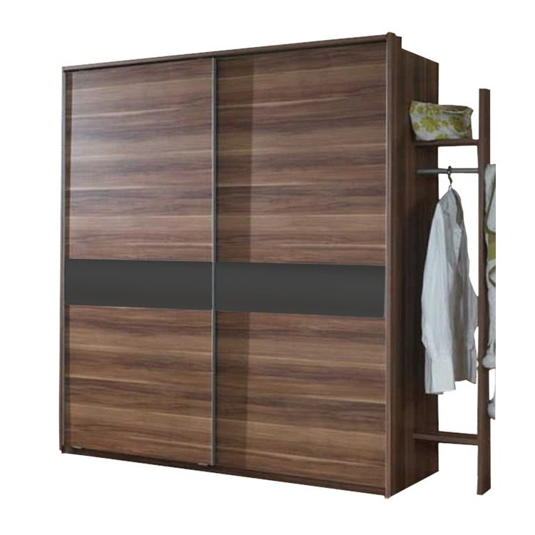 schwebet renschrank vigo franz sisch nussbaum glas schwarz mit passepartoutrahmen schrank. Black Bedroom Furniture Sets. Home Design Ideas