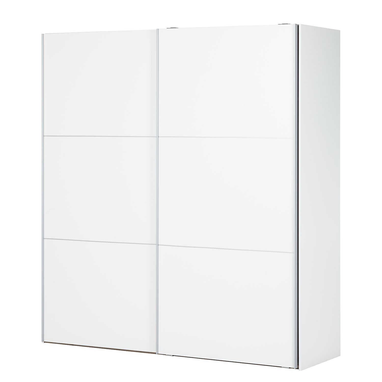 Armadio due ante scorrevoli laminato bianco tv200 prezzo e offerte sottocosto - Divisione interna armadio ...