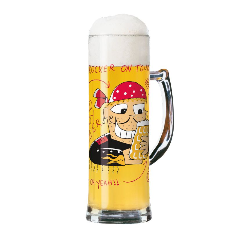 Seidelglas mit Bierdeckeln Seidel – 500 ml – Design Markus Binz – 2009 – 1780027, Ritzenhoff günstig bestellen