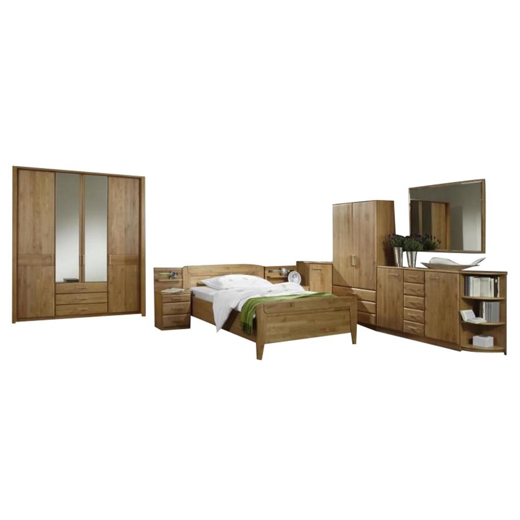 Senioren Schlafzimmer komplett Lausanne – Erle Dekor/Erle Massiv, Althoff jetzt bestellen