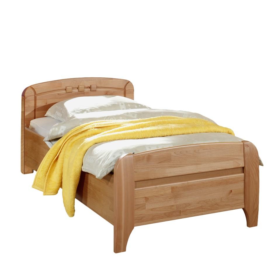 seniorenbett belfast erle teilmassiv komforth he 47cm liegefl che l nge 100 x 220 cm. Black Bedroom Furniture Sets. Home Design Ideas