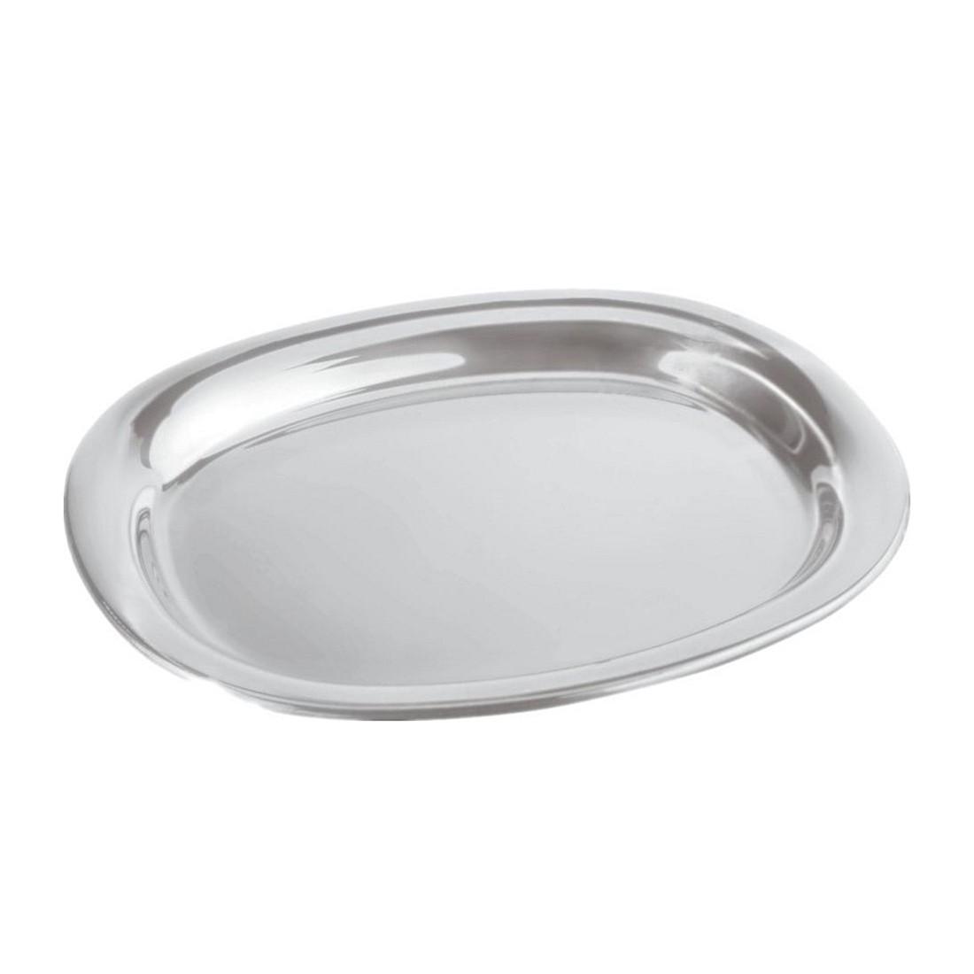Servierplatte – glänzend poliert/42 x 35 cm, Alessi online bestellen