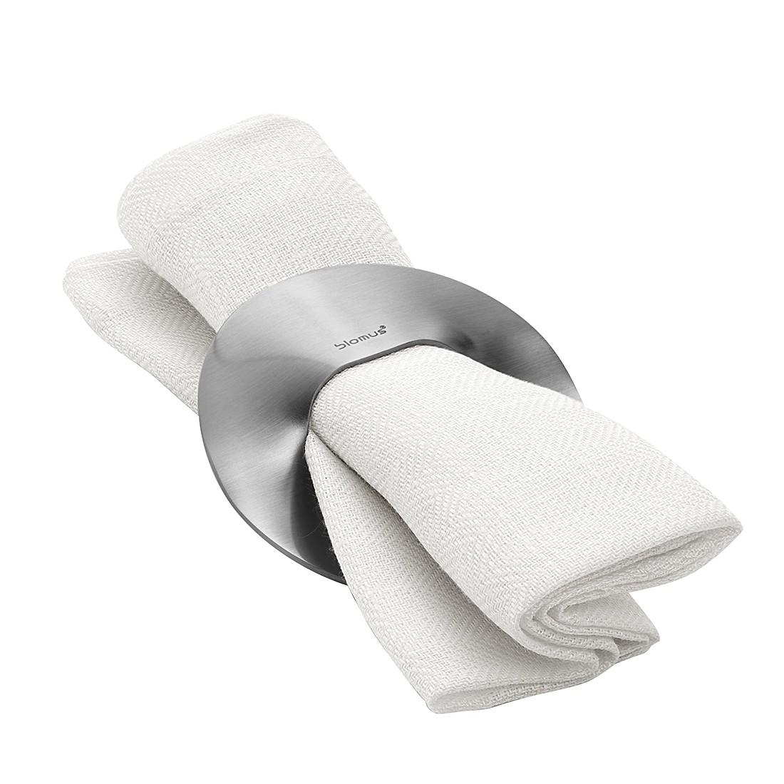 Serviettenringe Sinus (4er-Set) – Silber, Blomus online bestellen