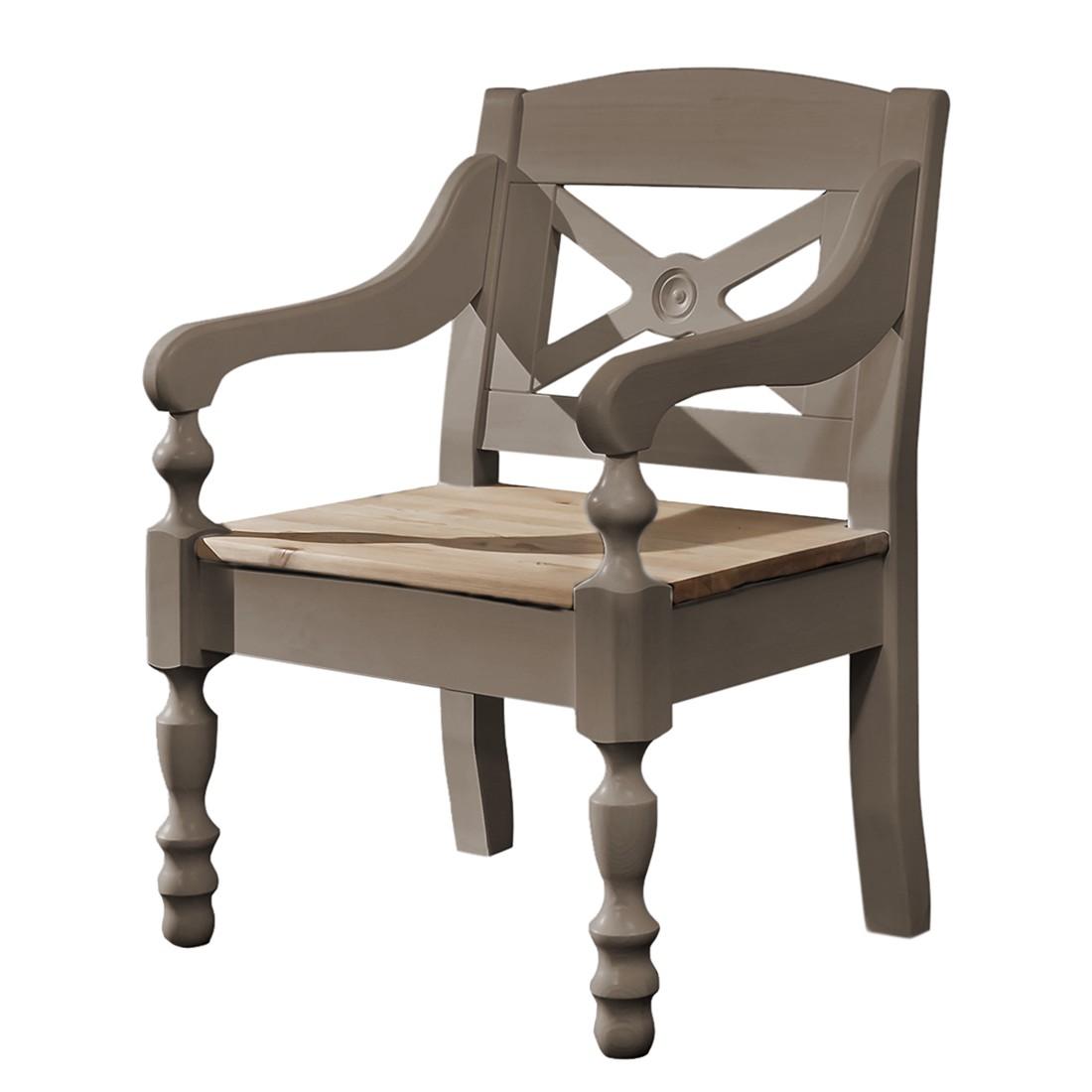 sessel bergen kiefer massiv grau laugenfarbig landhaus classic g nstig. Black Bedroom Furniture Sets. Home Design Ideas