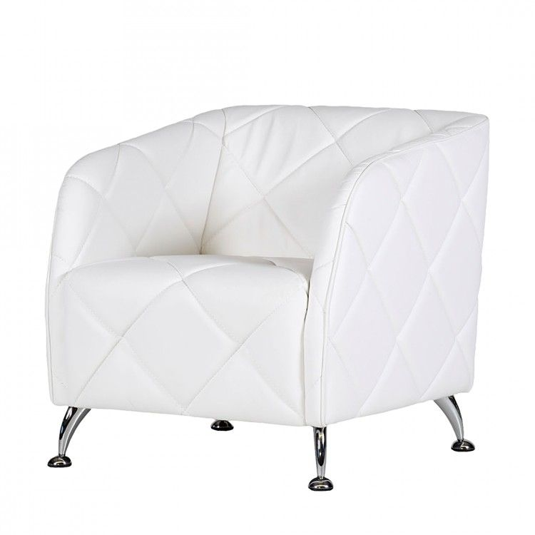 Sessel Alex – Kunstleder Weiß, Studio Monroe bestellen