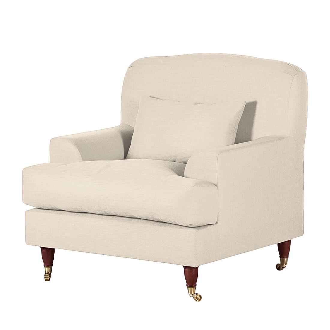 Sessel Bent – Webstoff Beige, Maison Belfort günstig online kaufen