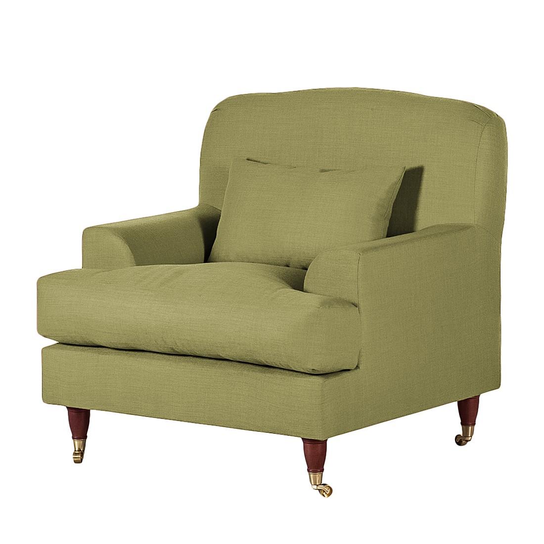 Sessel Bent – Webstoff Olivgrün, Maison Belfort jetzt kaufen