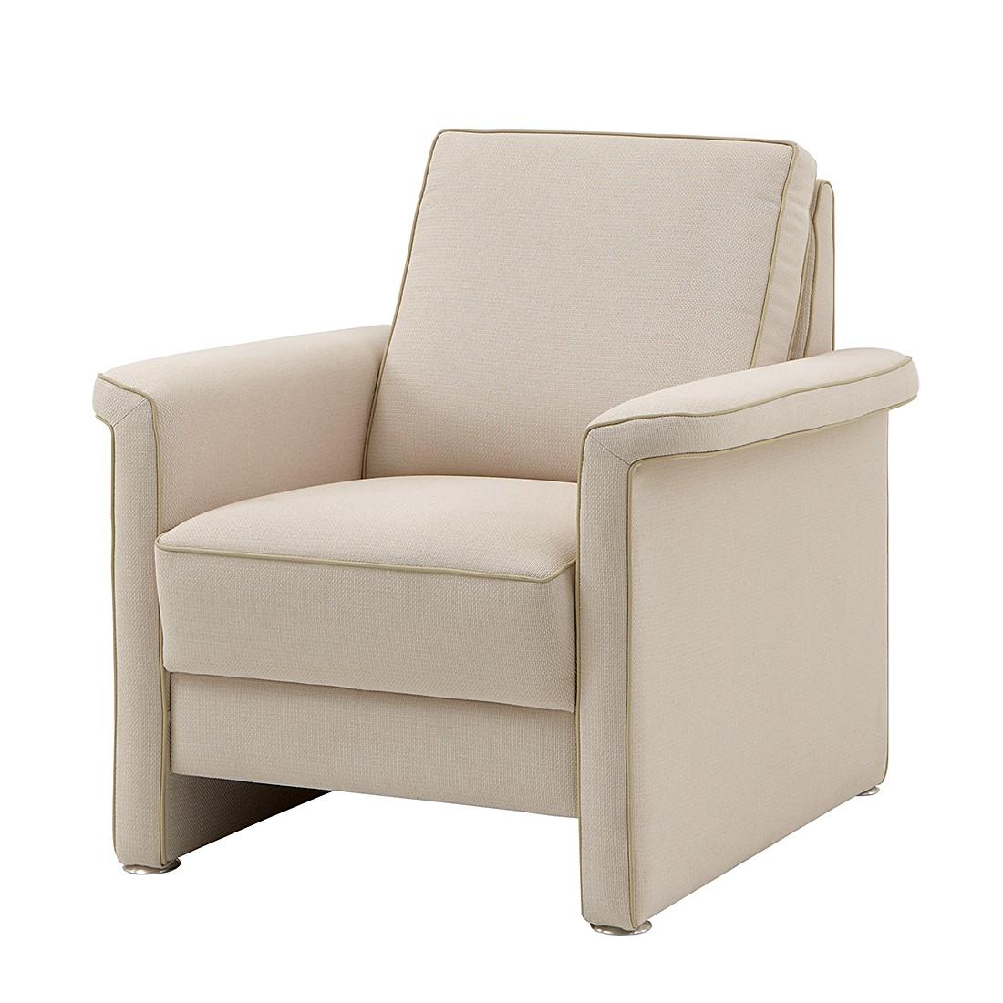 Sessel Boston – Webstoff Creme, Modoform jetzt kaufen