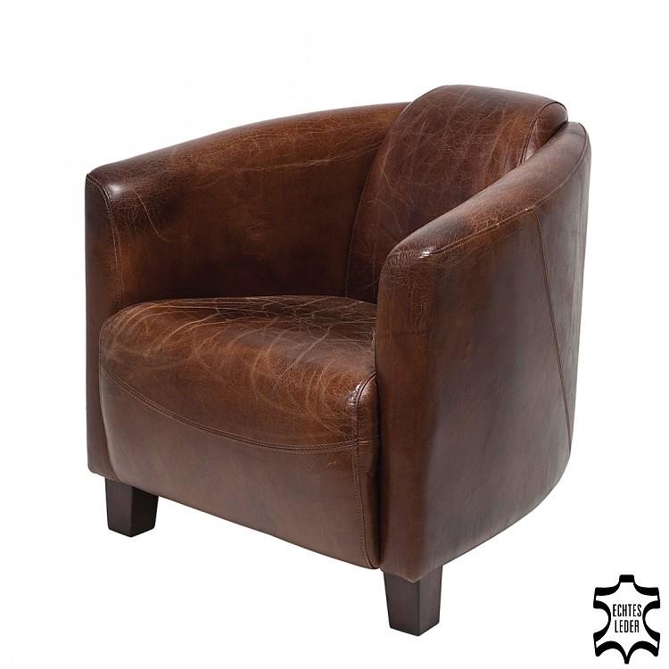 Design fauteuil leer kopen online internetwinkel for Bruine leren stoel