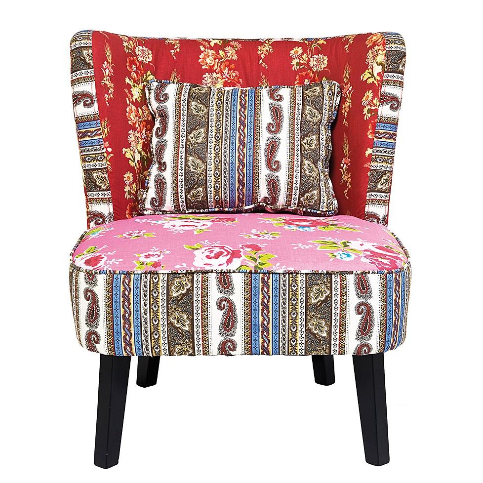 Sessel Club Patchwork - Rot, Kare Design