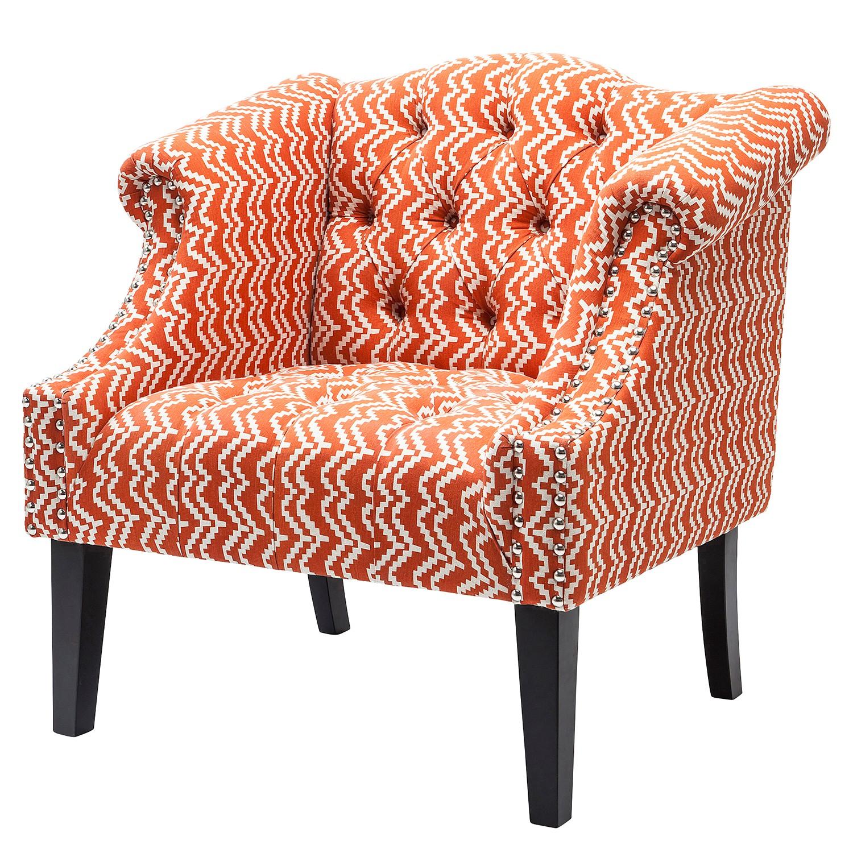 Sessel Julietta - Baumwollsoff - Orange, Kare Design
