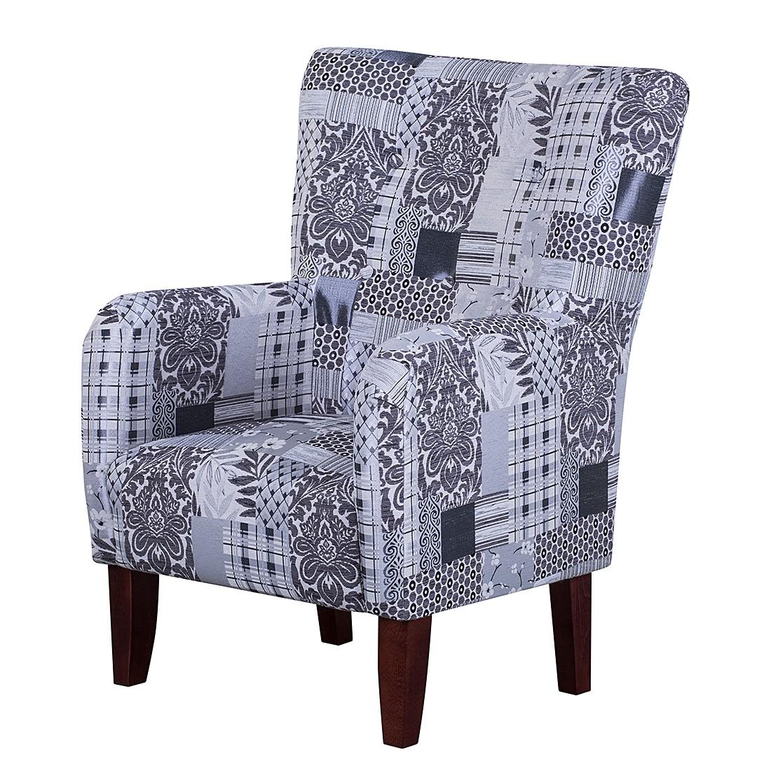 sessel karla webstoff beige grau jack alice g nstig. Black Bedroom Furniture Sets. Home Design Ideas