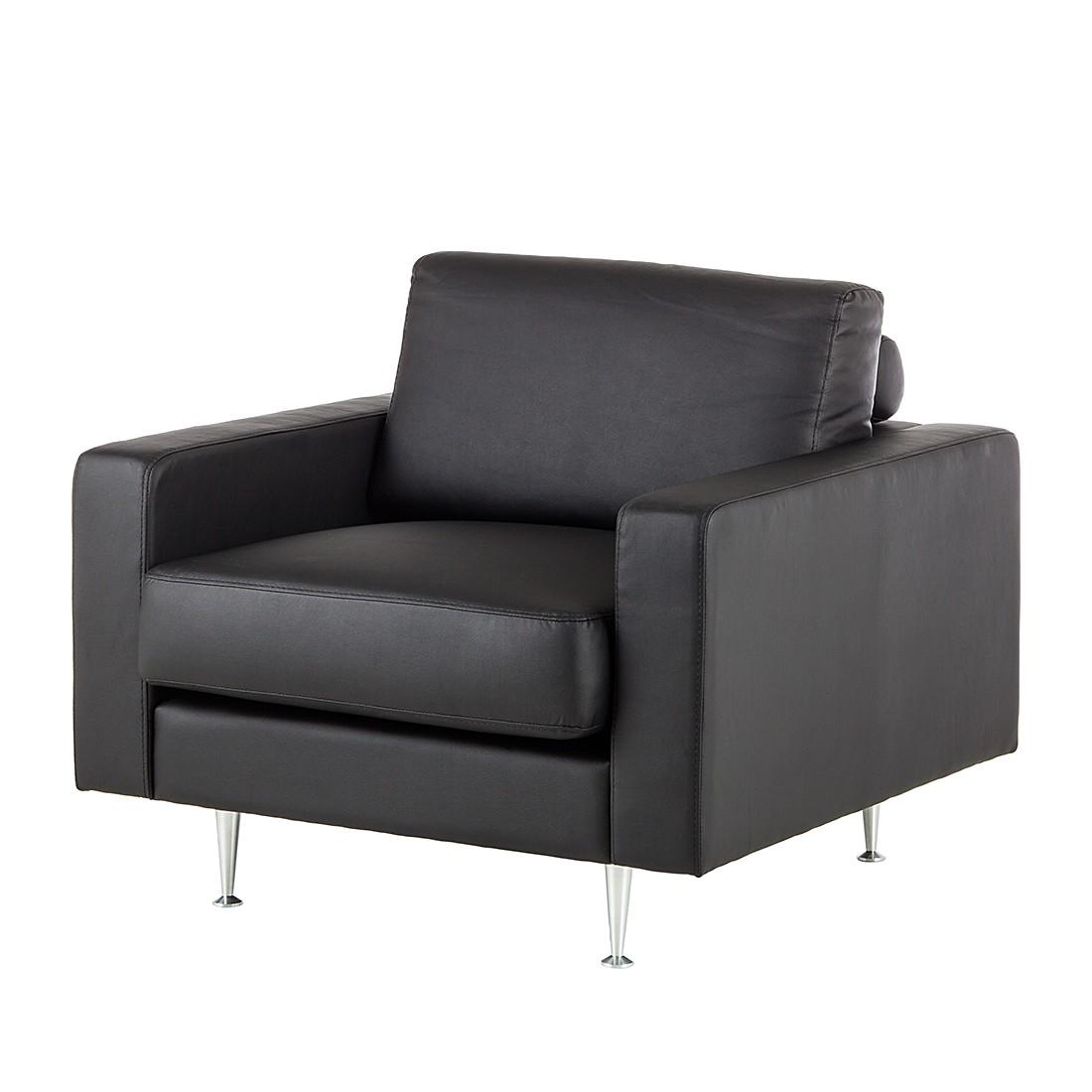 sessel laval kunstleder schwarz fredriks kaufen. Black Bedroom Furniture Sets. Home Design Ideas