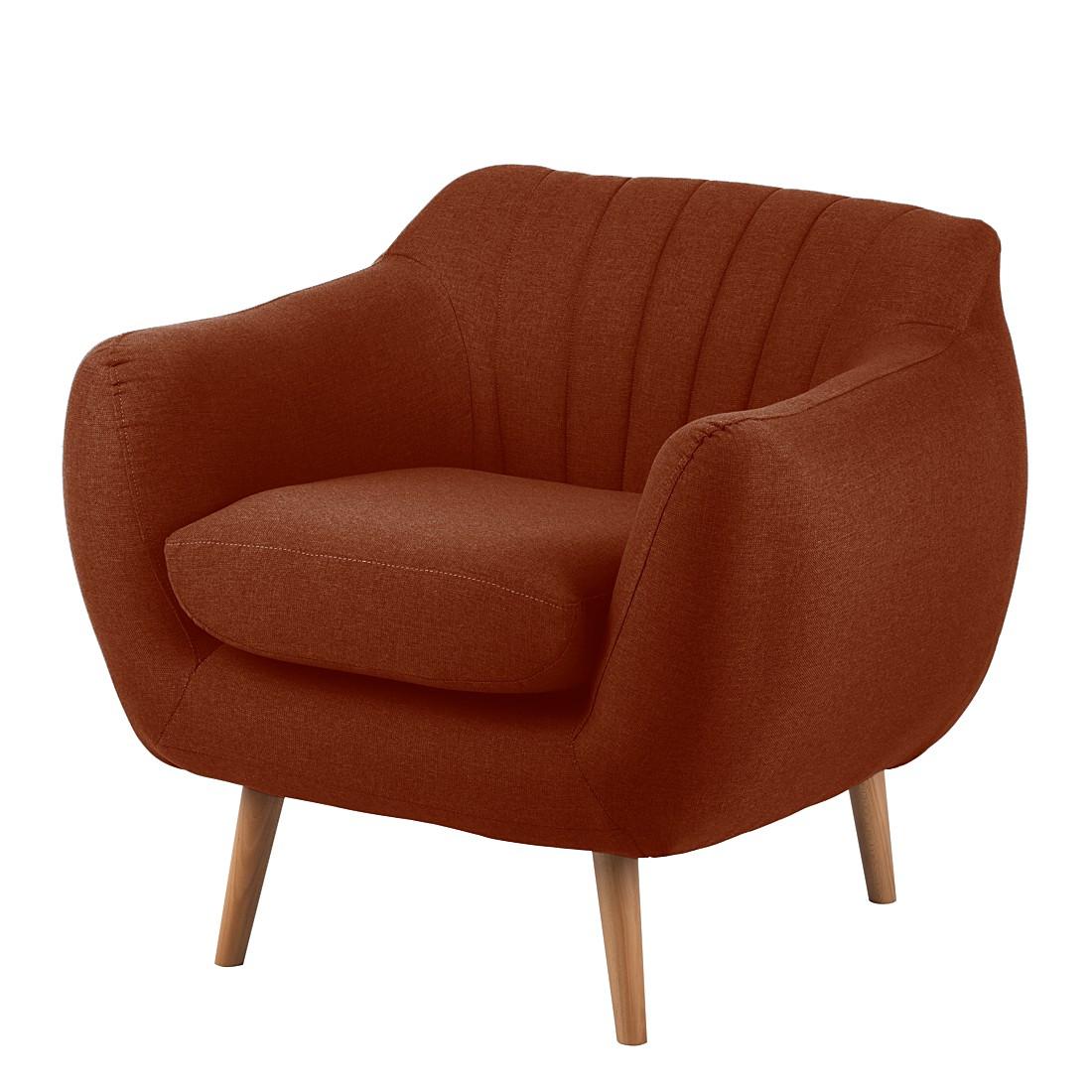 Sessel Molly – Webstoff Terracotta, Mørteens online kaufen