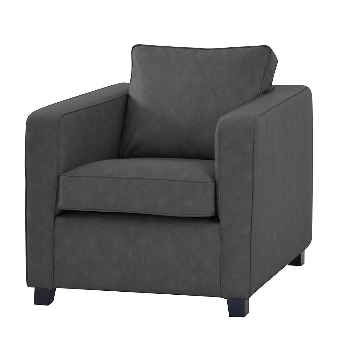 sessel kunstleder anthrazit williamflooring. Black Bedroom Furniture Sets. Home Design Ideas