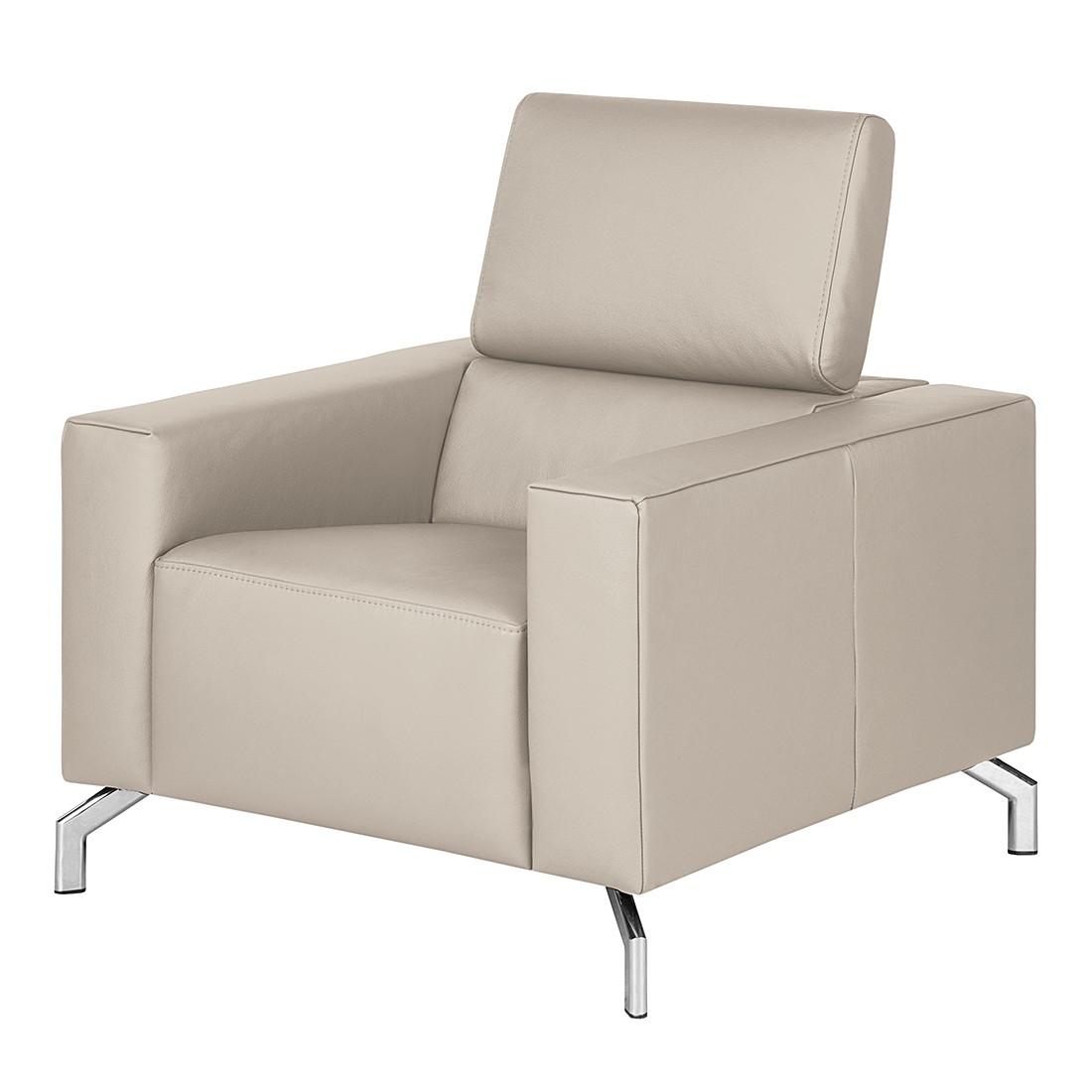 sessel varberg echtleder taupe loftscape g nstig online kaufen. Black Bedroom Furniture Sets. Home Design Ideas