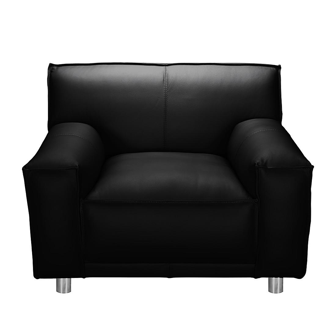 sessel willem kunstleder schwarz loftscape online kaufen. Black Bedroom Furniture Sets. Home Design Ideas
