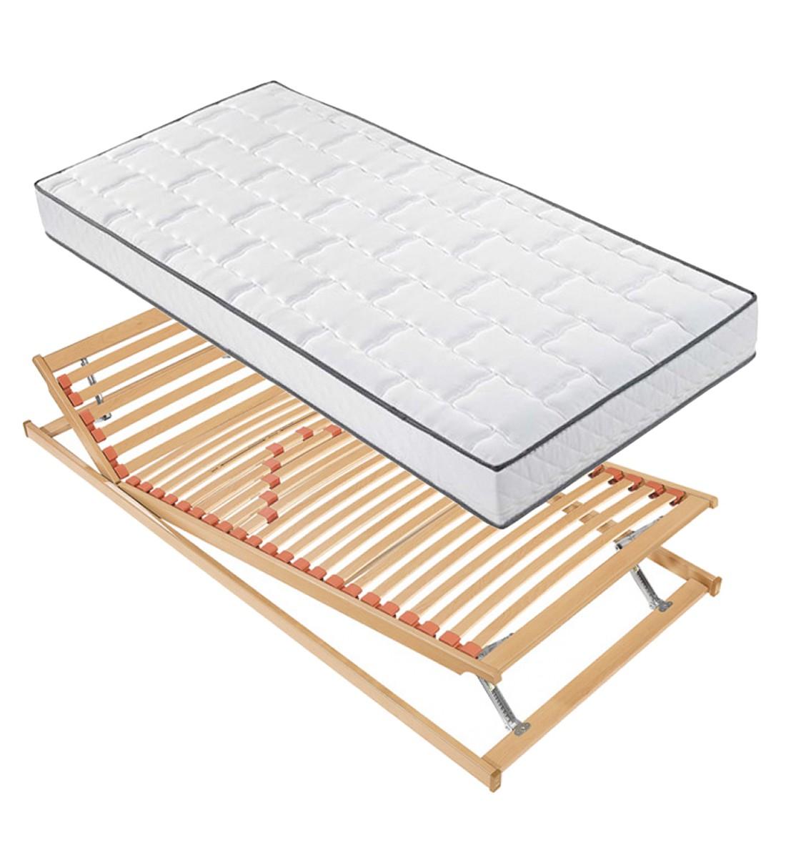 set i 7 zonen kaltschaummatratze lattenrost chill novel 80 x 200 cm arte m kaufen. Black Bedroom Furniture Sets. Home Design Ideas