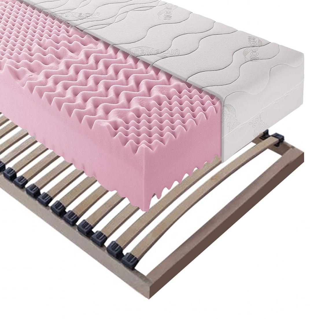Sparset Exclusive Sleep – Kaltschaummatratze + Lattenrost Sirius – 120 x 200cm – H3 ab 130 kg, Breckle bestellen