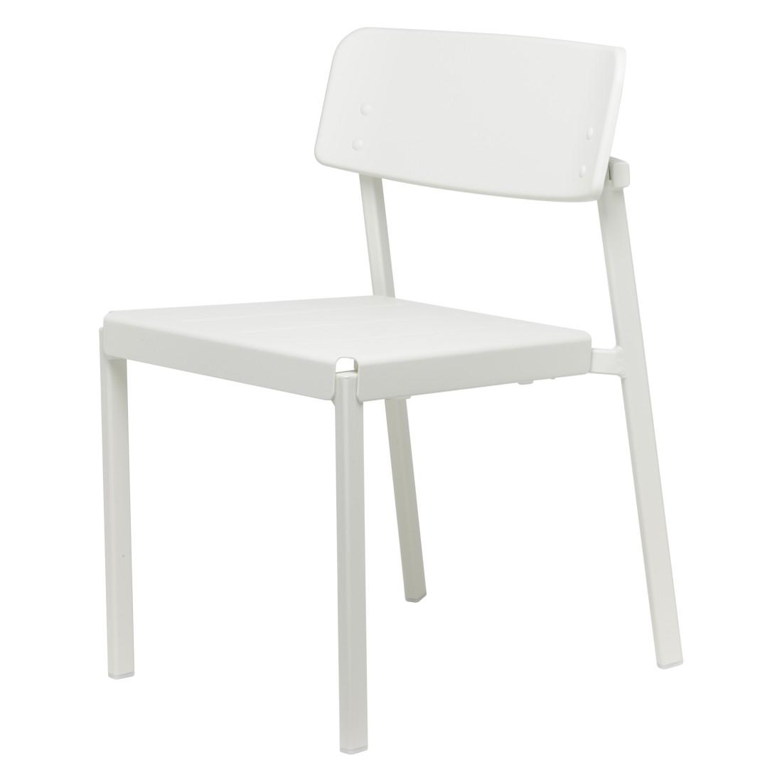 Stuhl Shine - Aluminium Pulverbeschichtet Weiß, Emu