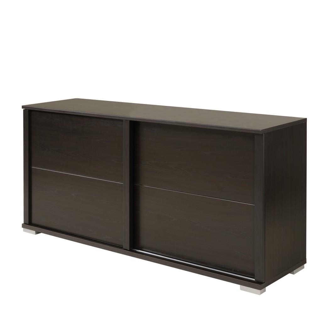 sideboard anesta wenge dekor zwei schiebet ren. Black Bedroom Furniture Sets. Home Design Ideas