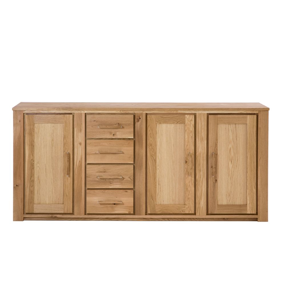 Sideboard atlantis wildeiche massivholz ge lt modell for Sideboard wildeiche