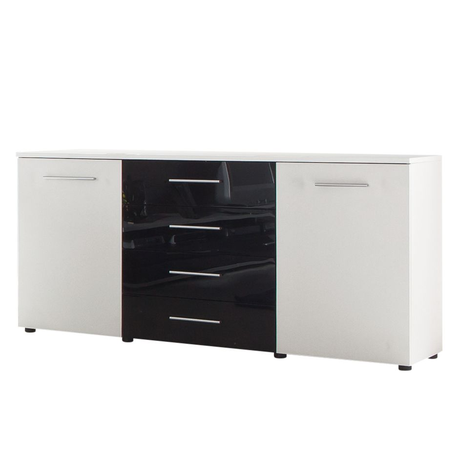 sideboard lila hochglanz tidy g nstig kaufen. Black Bedroom Furniture Sets. Home Design Ideas