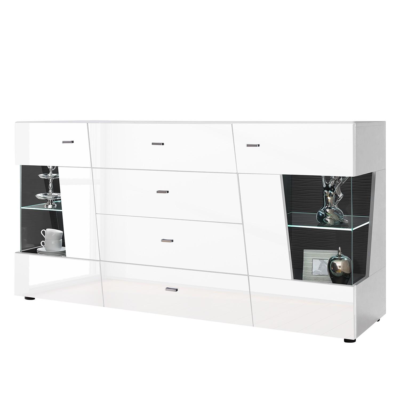 hochglanz sideboard grau sonstige preisvergleiche erfahrungsberichte und kauf bei nextag. Black Bedroom Furniture Sets. Home Design Ideas