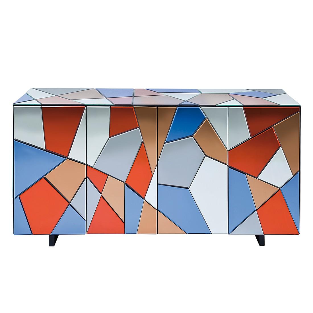 Sideboard Colored Fields - Glas Bunt, Kare Design