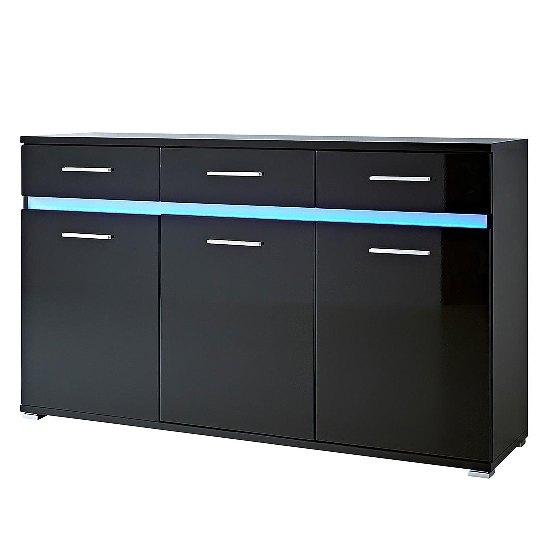 sideboard wei hochglanz g nstig kaufen. Black Bedroom Furniture Sets. Home Design Ideas