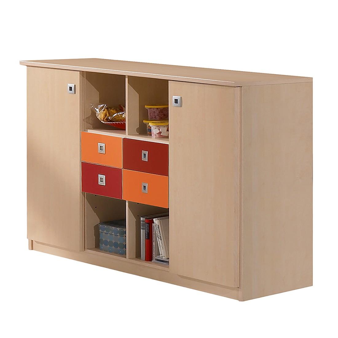 sideboards rot preisvergleiche erfahrungsberichte und. Black Bedroom Furniture Sets. Home Design Ideas