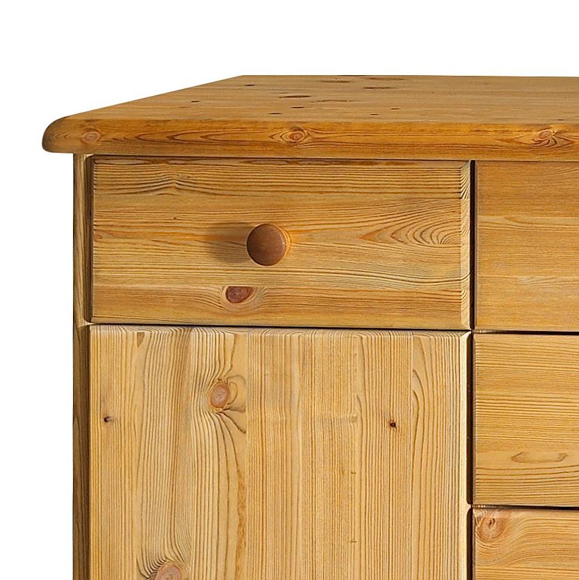Sideboard finn iii kiefer massiv gelaugt ge lt steens for Sideboard lindholm iii