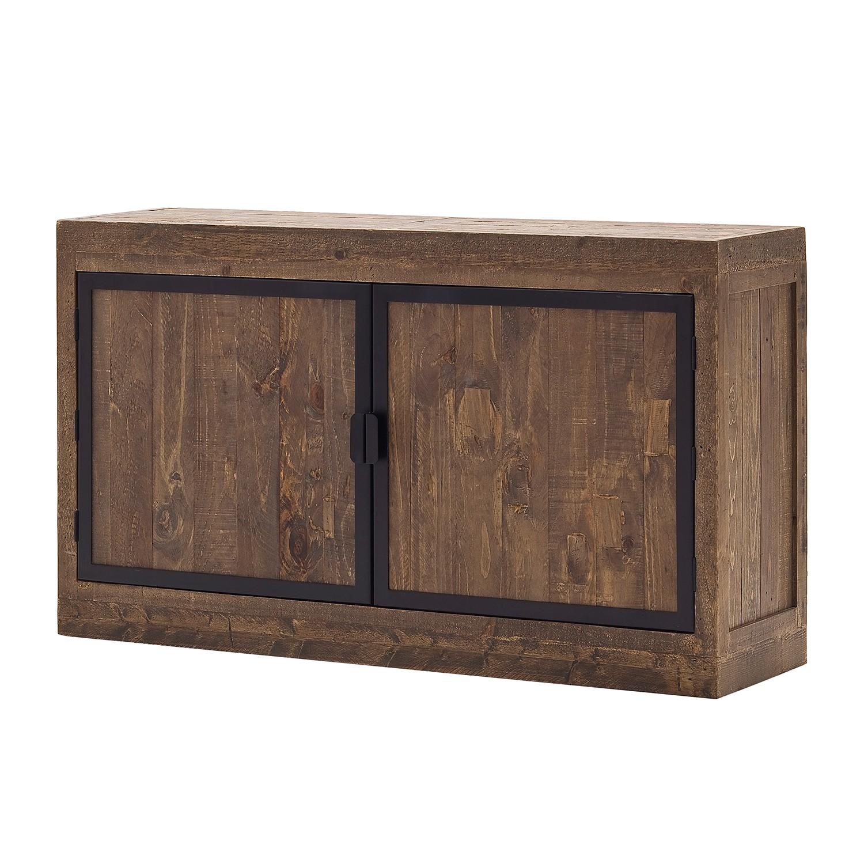 Sideboard Firlo I - Kiefer massiv - Antik Braun, furnlab