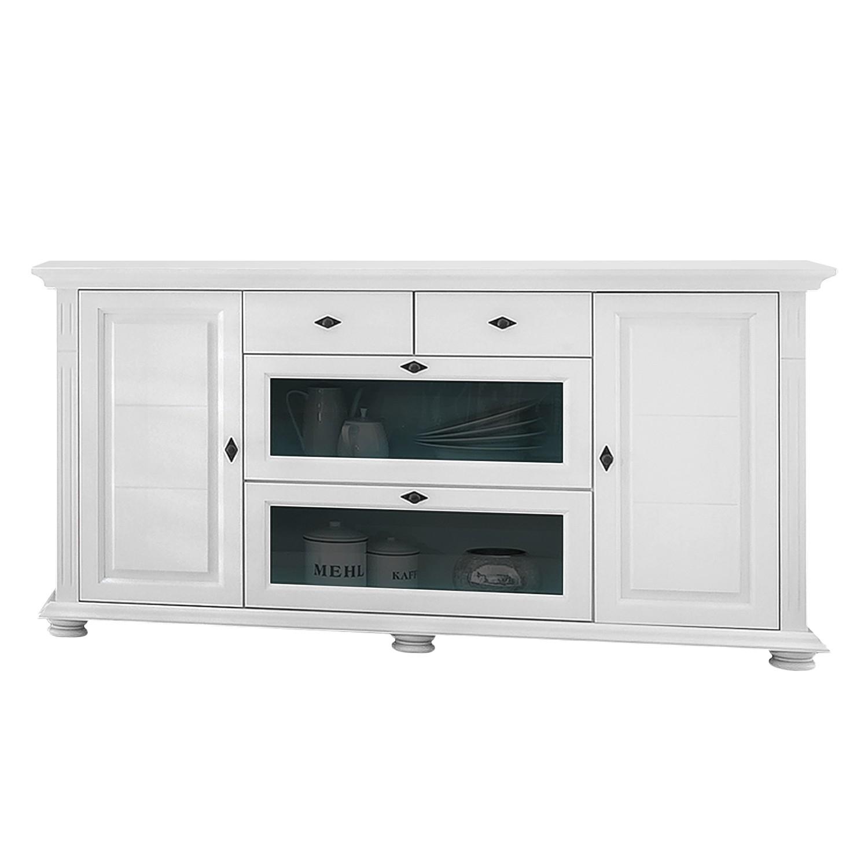 Sideboard Flinn I – Asfichte massiv – Weiß, Maison Belfort jetzt bestellen