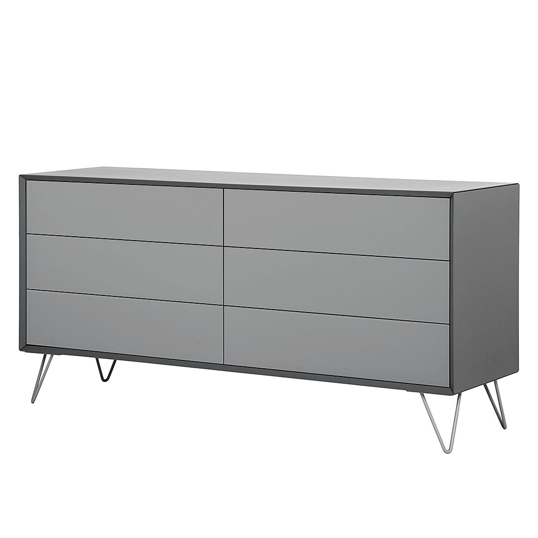 sideboard jerrell ii matt grau m rteens tipps vom einrichter. Black Bedroom Furniture Sets. Home Design Ideas