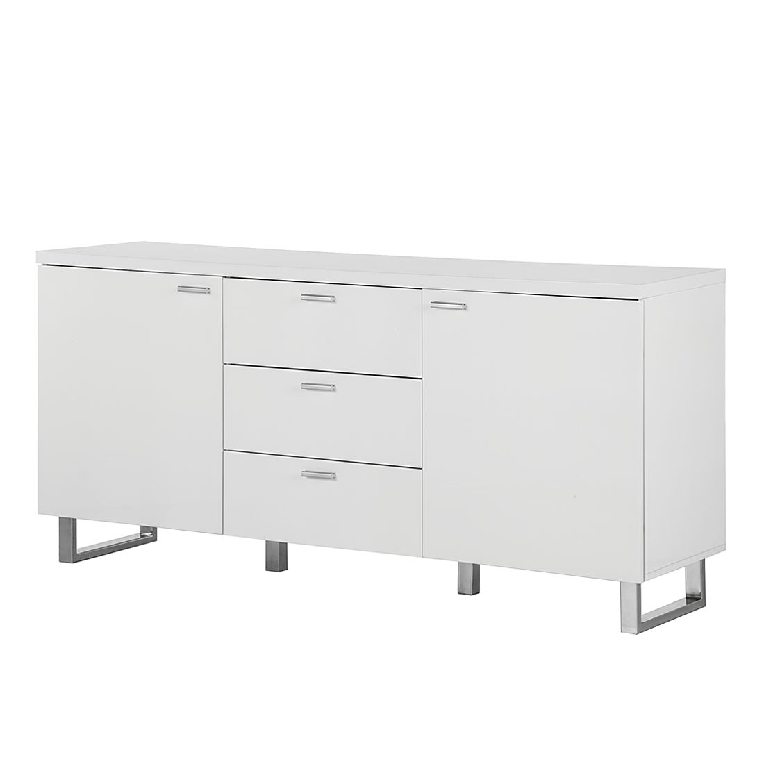 sideboard kapstadt hochglanz wei fredriks g nstig. Black Bedroom Furniture Sets. Home Design Ideas
