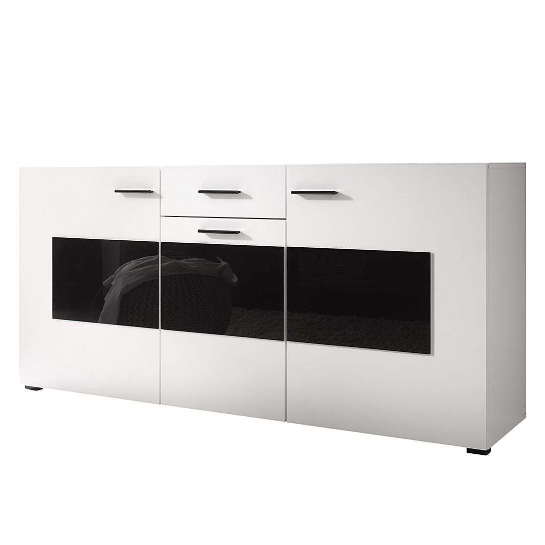 sideboard madis wei schwarz roomscape g nstig bestellen. Black Bedroom Furniture Sets. Home Design Ideas
