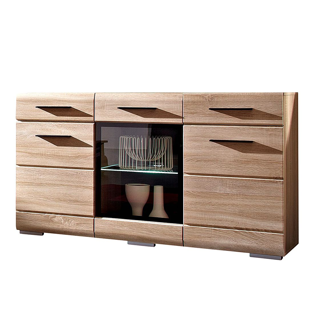 sideboard mandalo sonoma eiche dekor. Black Bedroom Furniture Sets. Home Design Ideas