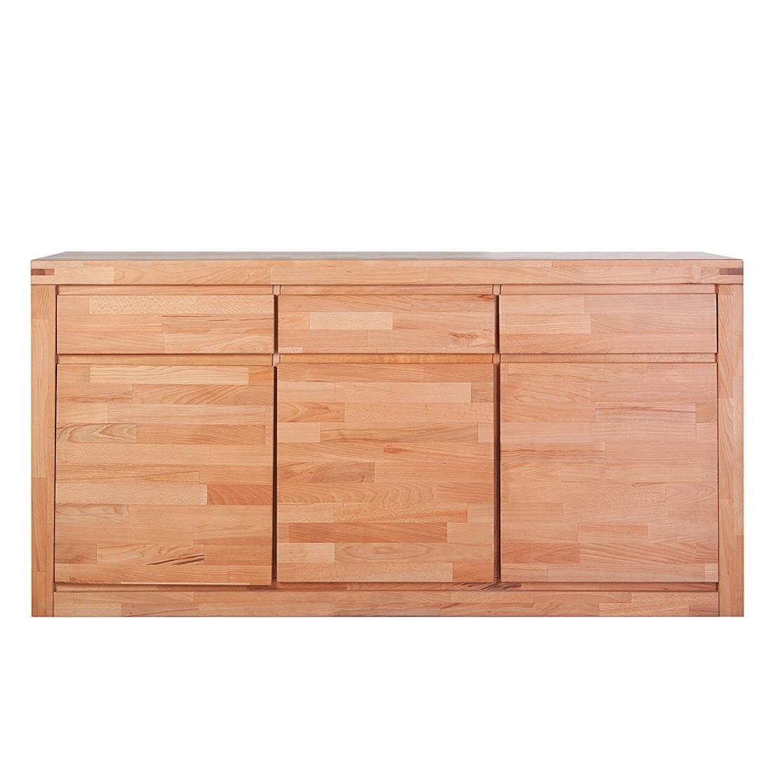 sideboard merle kernbuche massiv ge lt lackiert ge lt. Black Bedroom Furniture Sets. Home Design Ideas