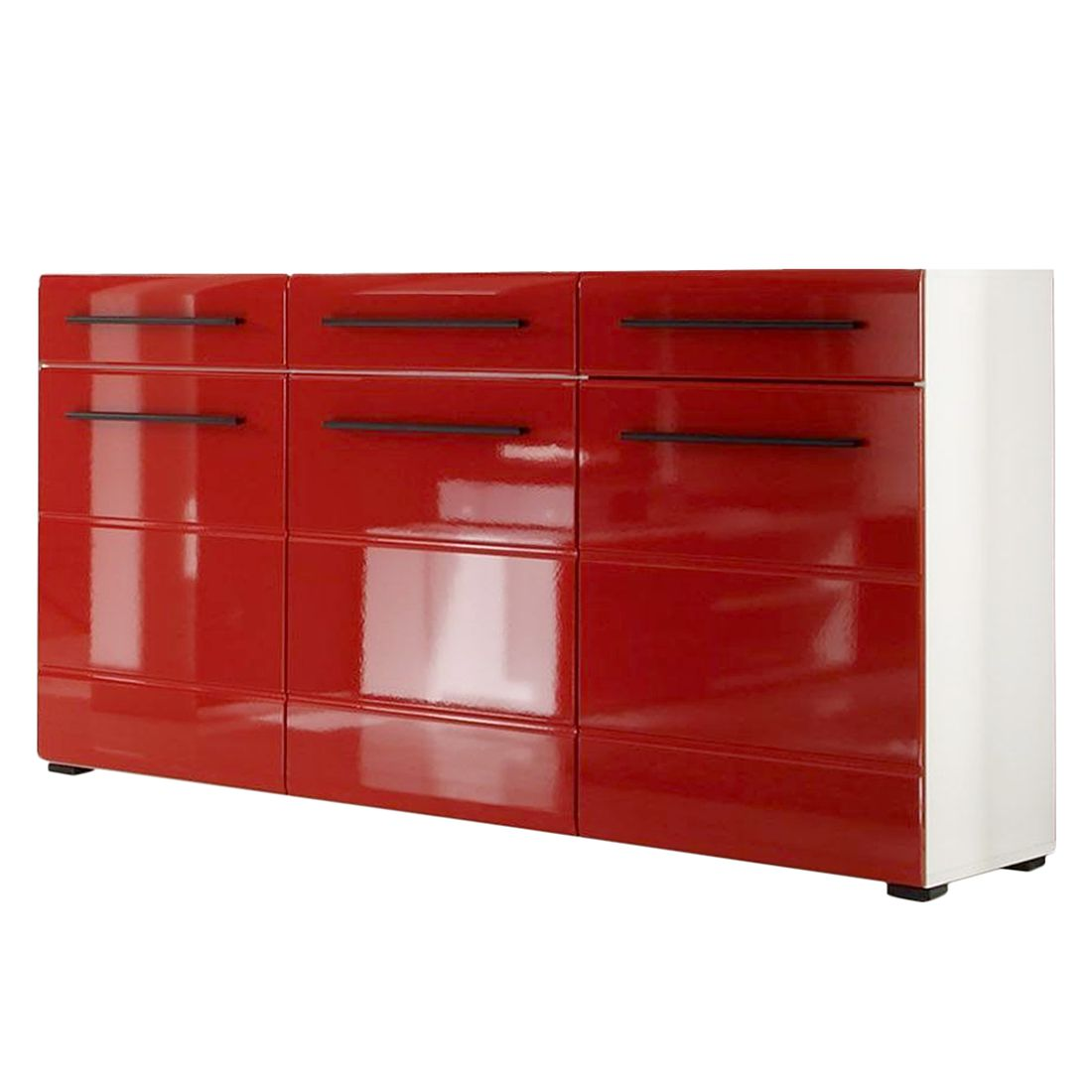 Sideboard Hochglanz Rot Elegant Excellent Good Gallery Of Sideboard