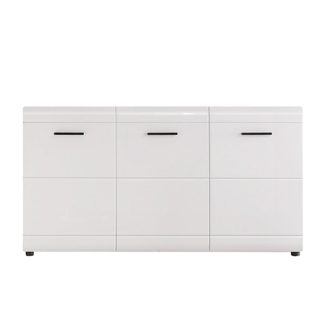 Sideboard Olymp - Weiß Hochglanz