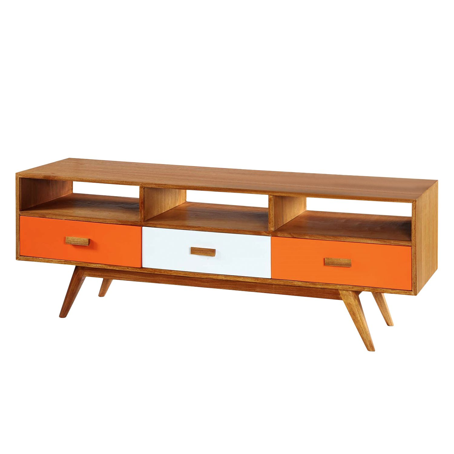Mia Casa Sideboard Passion for Retro III - Mindi massiv, Mia Casa
