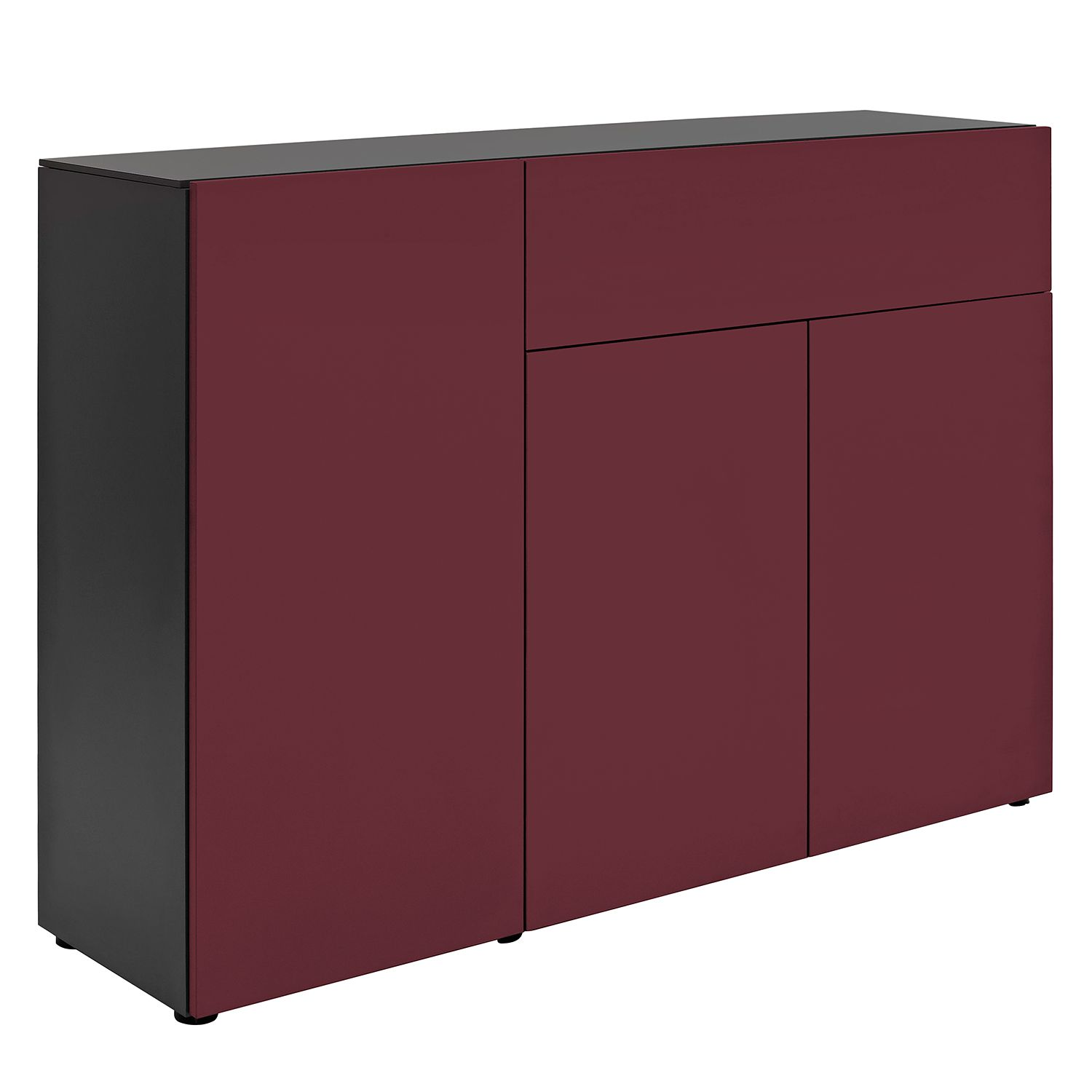sideboard wei matt g nstig kaufen. Black Bedroom Furniture Sets. Home Design Ideas