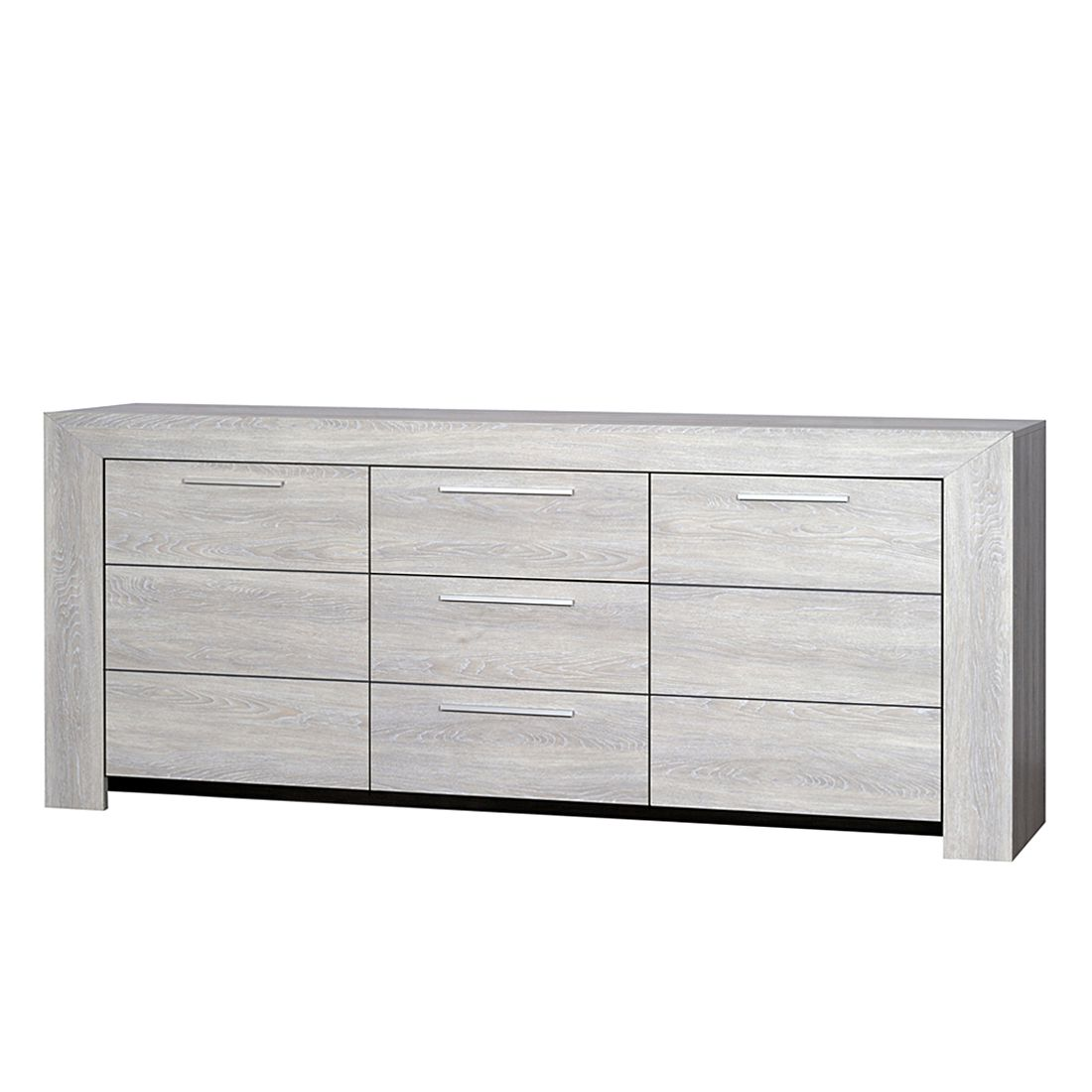 sideboard rimini eiche grau dekor mdf. Black Bedroom Furniture Sets. Home Design Ideas