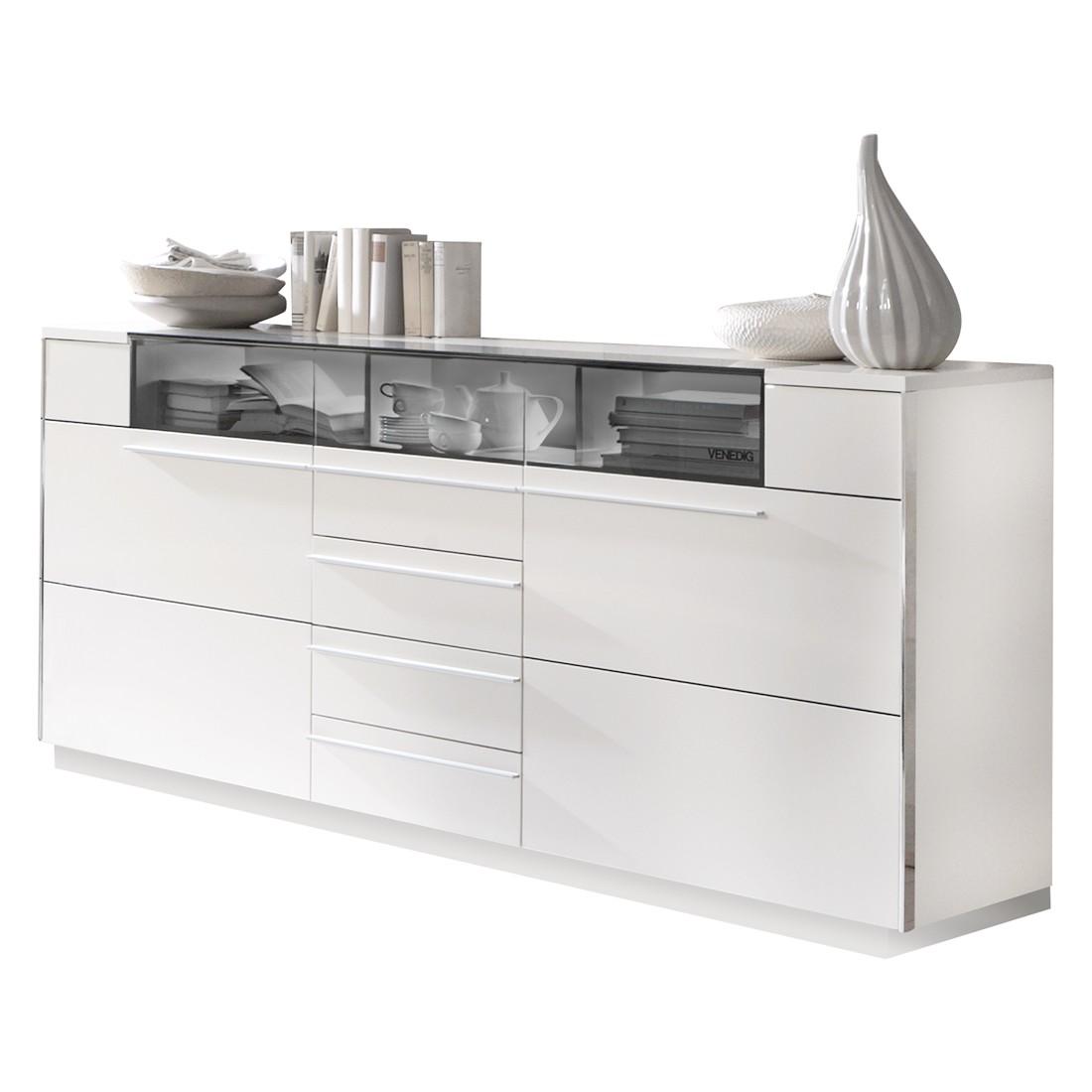 sideboard roomconcept polarwei ohne beleuchtung mit sockel holtkamp g nstig online kaufen. Black Bedroom Furniture Sets. Home Design Ideas
